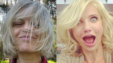 Cienkie włosy - Małgorzata Foremniak i Cameron Diaz