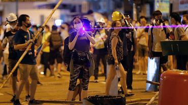 Nowe technologie w służbie protestujących w Hongkongu