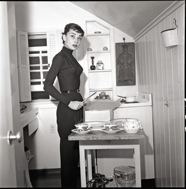 Kuchnia Audrey Hepburn pachniała czekoladą, sosem pomidorowym i kwiatami z ogrodu