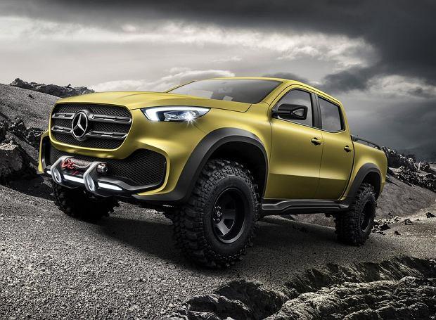 Nowy pickup Mercedesa. Premiera lada moment!