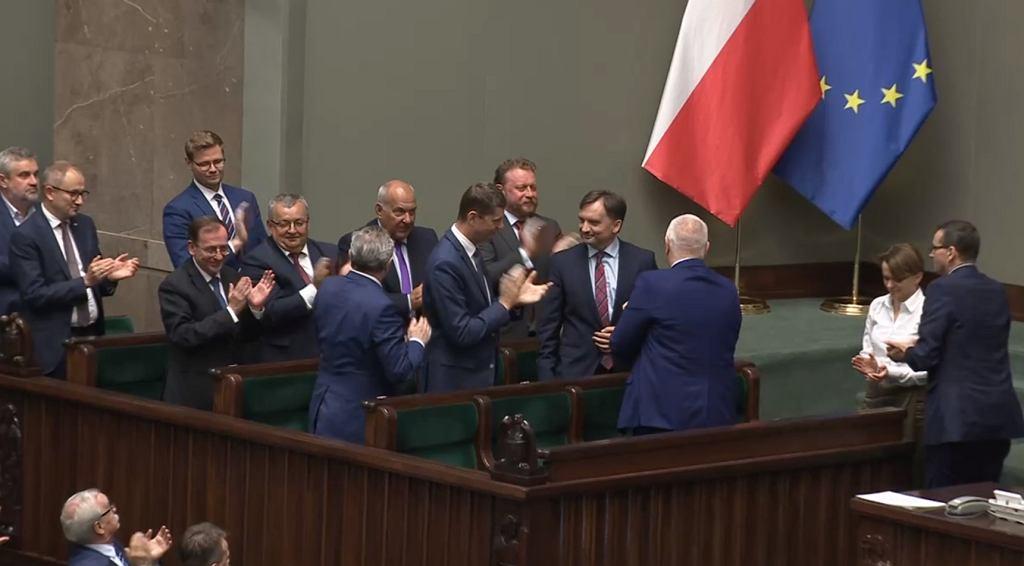 Sejm odrzucił wniosek o wotum nieufności wobec Zbigniewa Ziobry i Mariusza Kamińskiego