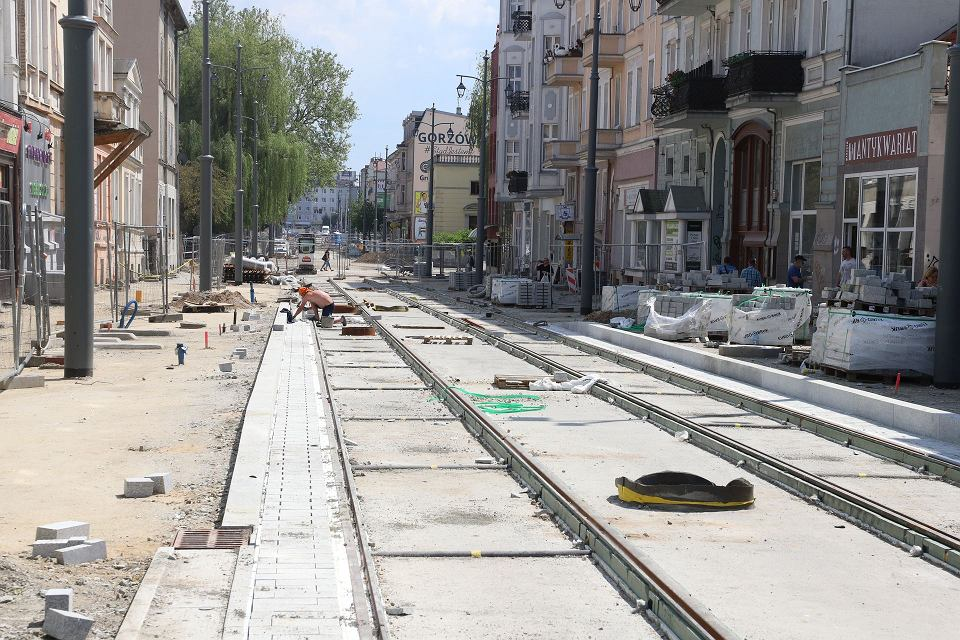 Zdjęcie numer 13 w galerii - Wielka przebudowa w centrum Gorzowa trwa już rok. Co się ostatnio zmieniło?