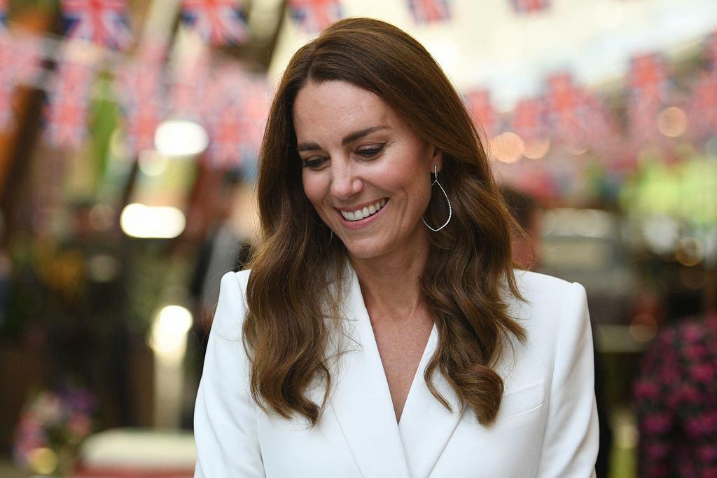 Księżna Kate na bankiecie w czasie G7