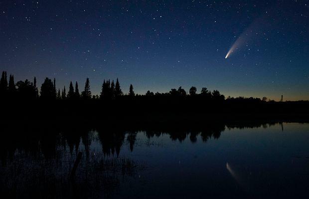 Kometa Neowise - Minnesota