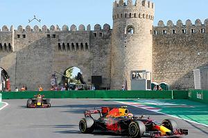 GP Azerbejdżanu. Dwa piątkowe treningi dla Verstappena