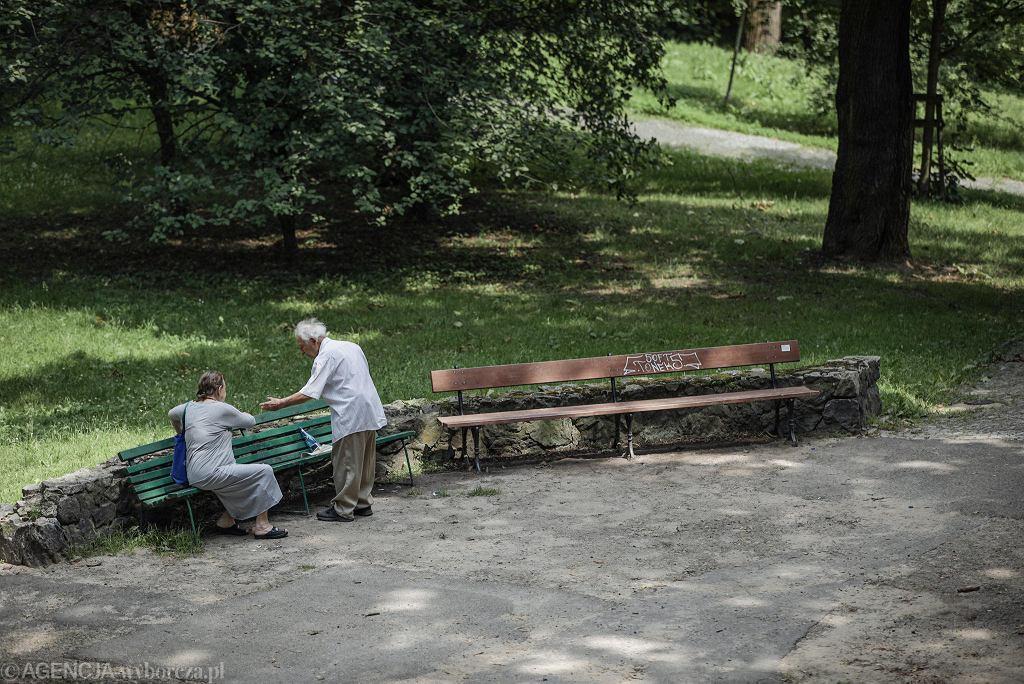 W Śródmieściu dominują seniorzy
