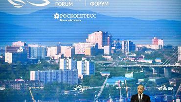5.09.2019, Władymir Putin na forum ekonomicznym we Władywostoku.