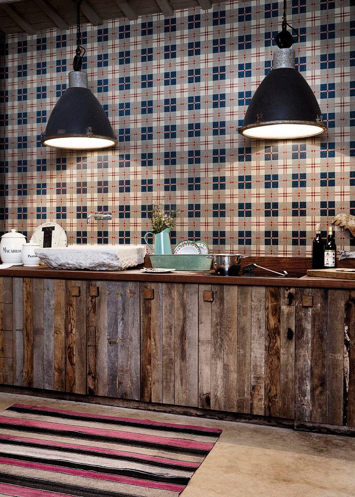 Tapeta na ścianę w kuchni - kolekcja Ceylan marki Coordonne