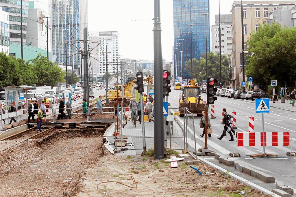 Remont przystanków tramwajowych na rondzie ONZ przeprowadzono już dwa lata temu