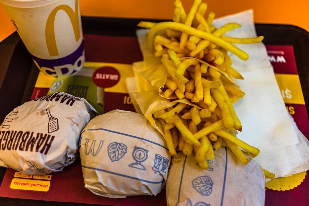 Jedzenie z McDonald's