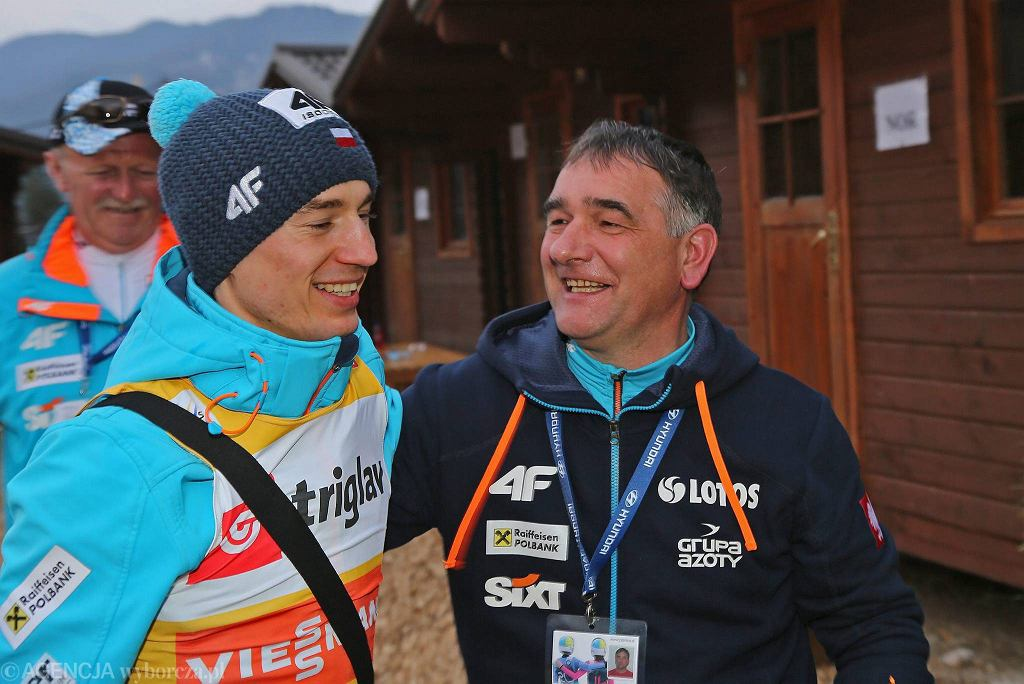 Kamil Stoch i Zbigniew Klimowski