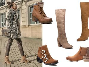 brązowe buty damskie na jesień / mat. partnera / www.instagram.com/aniawendzikowska
