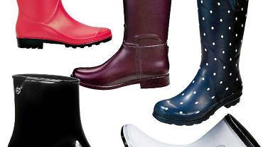 Buty na jesień: kalosze