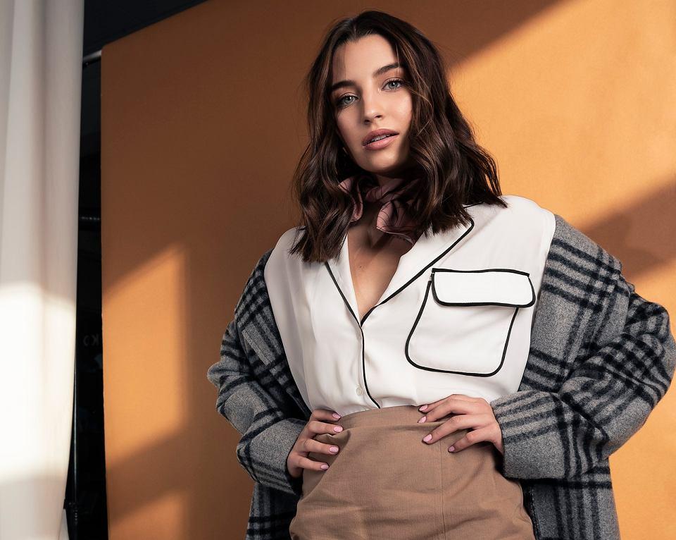 Kopertowa spódnica z kolekcji Julii Wieniawy Bea Boutique
