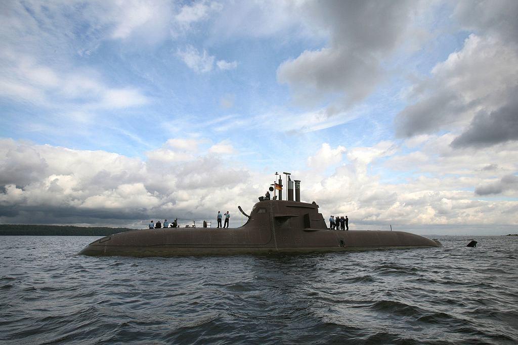 Niemiecki okręt podwodny typu 212. Jeden z konkurentów w programie Orka