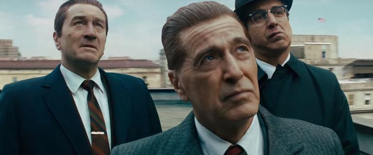 """""""Irlandczyk"""". Ostatni zwiastun nadchodzącej produkcji Martina Scorsesego"""