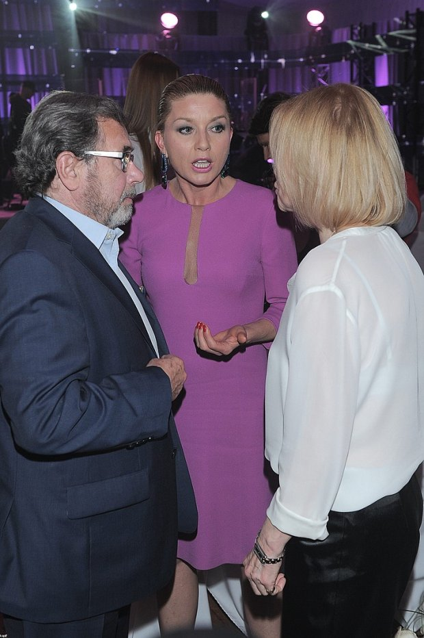 Janusz Gajos z żoną, Edyta Olszówka