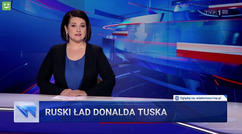 'Wiadomości' TVP o Donaldzie Tusku