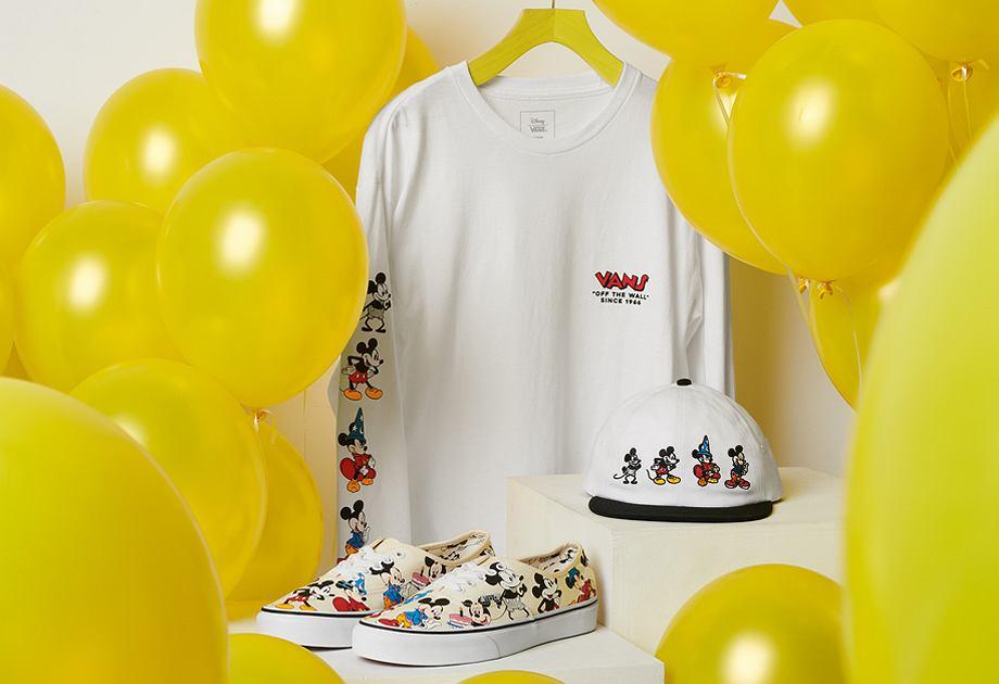 Vans świętuje 90. urodziny Myszki Mickey specjalną kolekcją