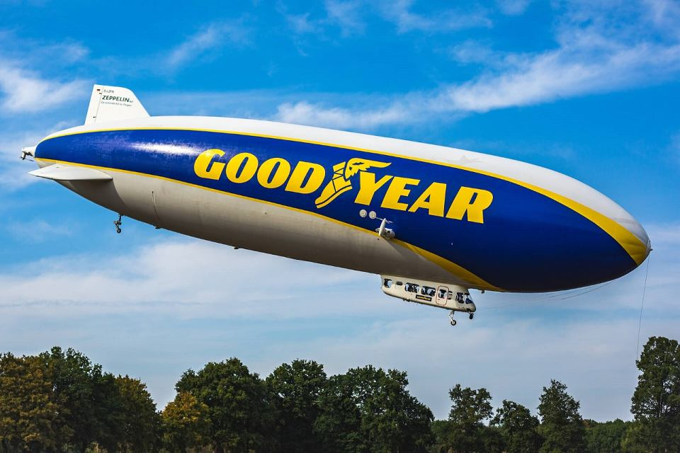 Sterowiec Goodyear Blimp