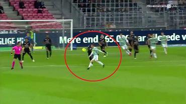 Gol w meczu Midtjylland - Celtic