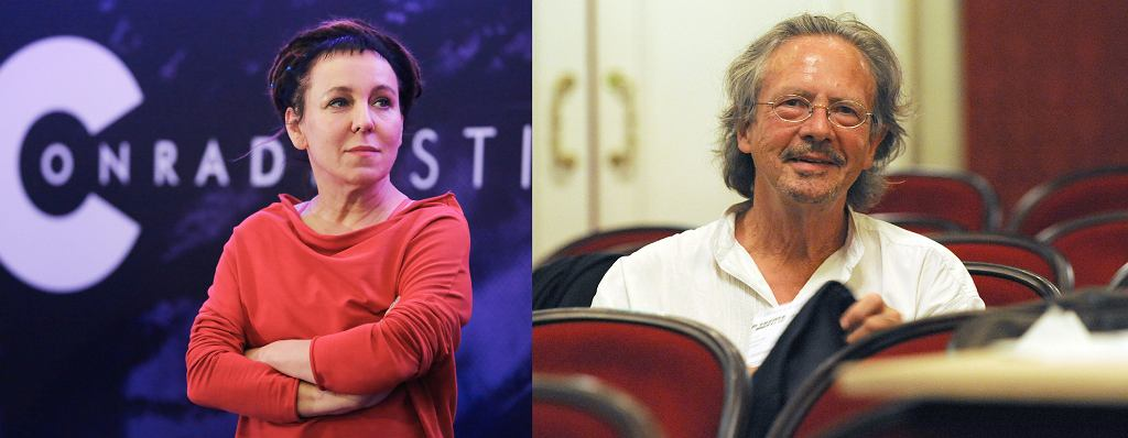 Olga Tokarczuk i Peter Handke, tegoroczni nobliści z literatury
