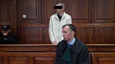 Robert P. podczas procesu przed Sądem Okręgowym w Warszawie