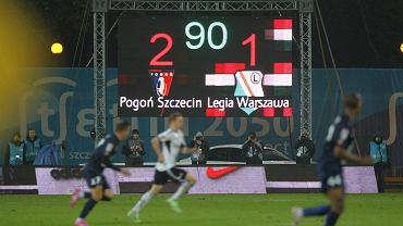 Pogoń pokonała Legię w meczu ligowym po raz pierwszy od 16 lat