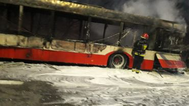 Spalony autobus GAiT