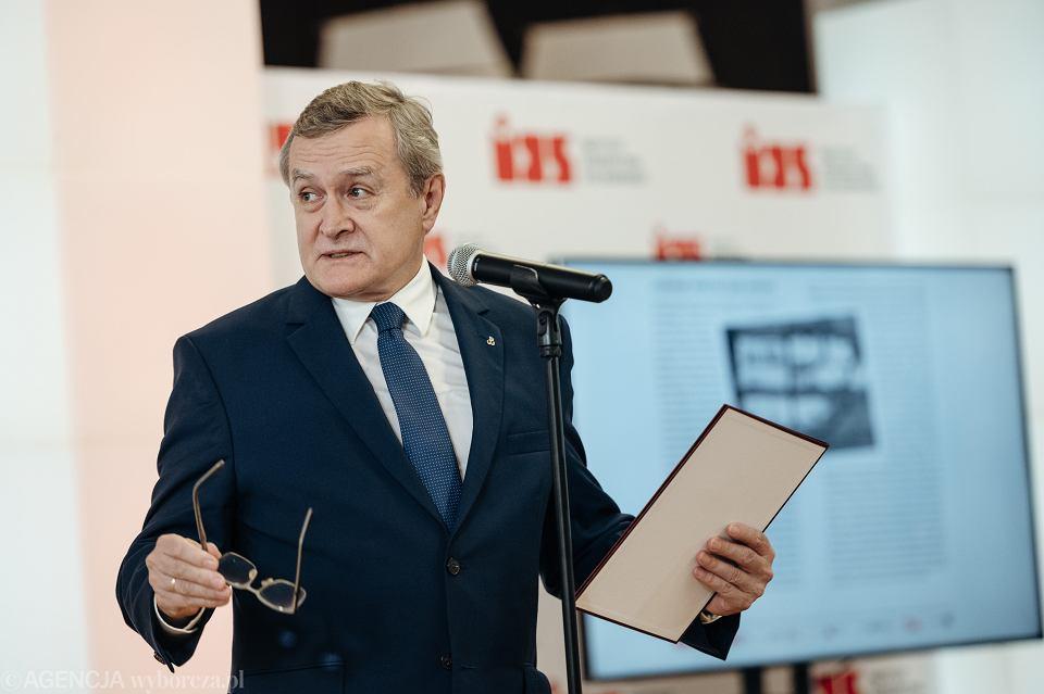 Wicepremier, minister kultury i dziedzictwa narodowego Piotr Gliński.