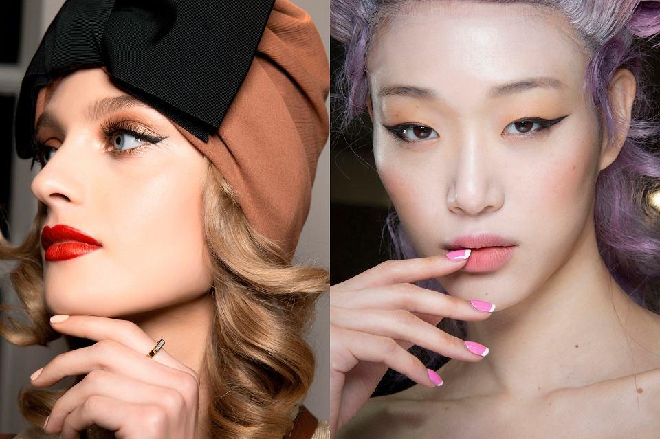 modny makijaż na jesień