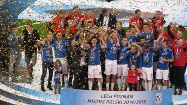 Lech Poznań - Wisła Kraków. Lech Poznań po remisie 0:0 zostaje mistrzem Polski 2015