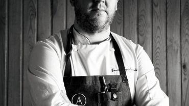 Ernest Jagodziński - szef kuchni restauracji Autentyk w Poznaniu