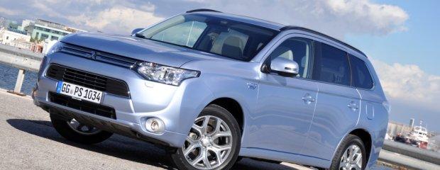 Mitsubishi Outlander PHEV - Test | Pierwsza jazda | Zabawka