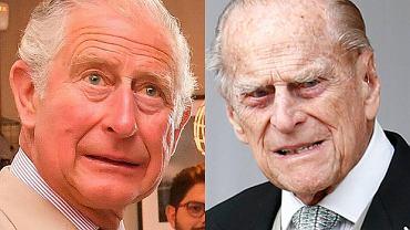 Książę Filip i książę Karol