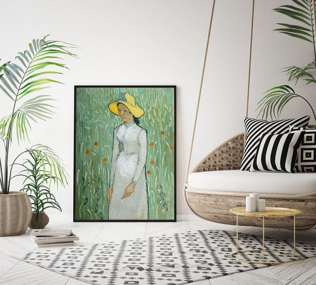Plakat Dziewczyna w bieli Vincent van Gogh A3
