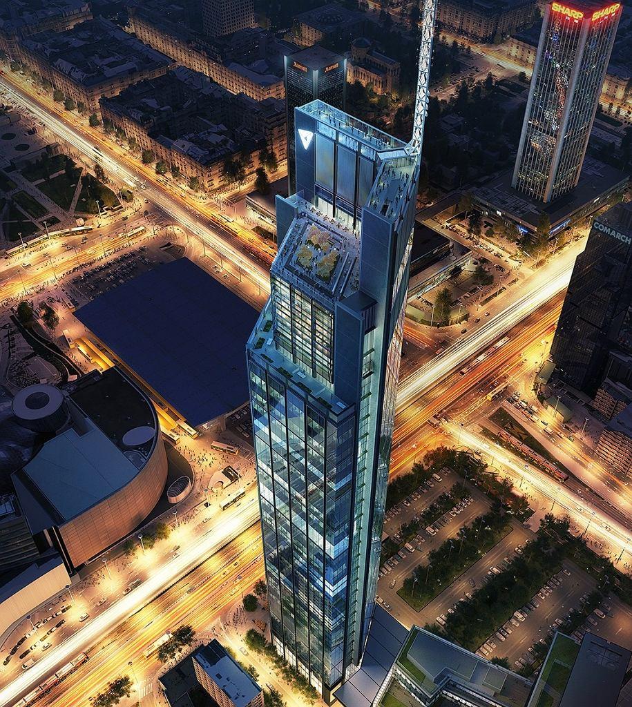 Varso: za projekt najwyższego wieżowca w Polsce i UE odpowiedzialny jest Norman Foster, jeden z najbardziej znanych architektów na świecie.