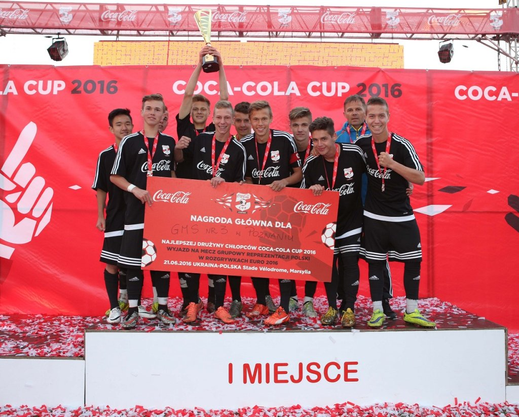Wielki finał Coca-cola Cup 2016 na Targu Węglowym