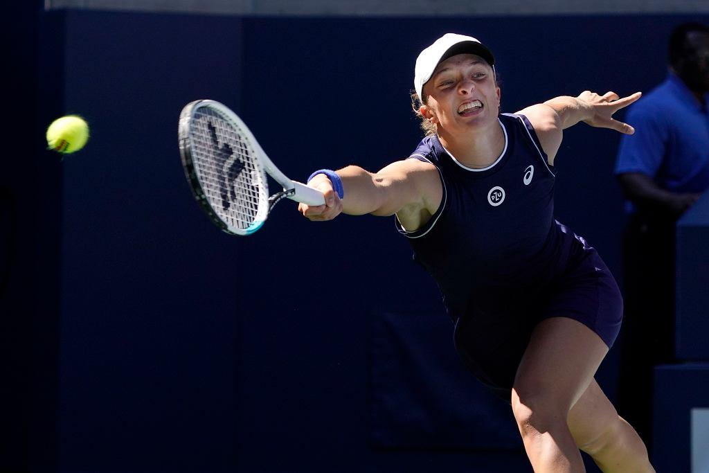 WTA Finals. Iga Świątek blisko awansu