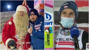 Piotr Żyła skomentował swoje podium w Ruce. Zrobił sobie zdjęcie ze św. Mikołajem