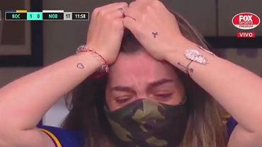 Córka Diego Maradony rozpłakała się podczas meczu Boca Juniors
