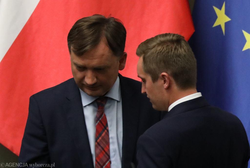 Zbigniew Ziobro, Sebastian Kaleta