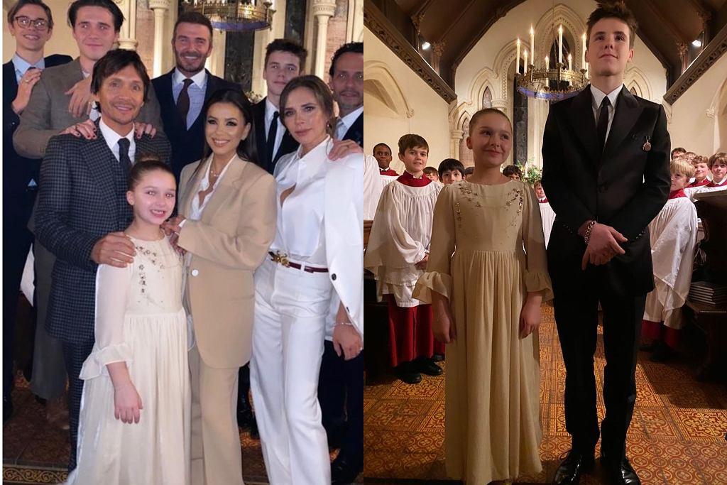 Victoria Beckham chrzest dzieci