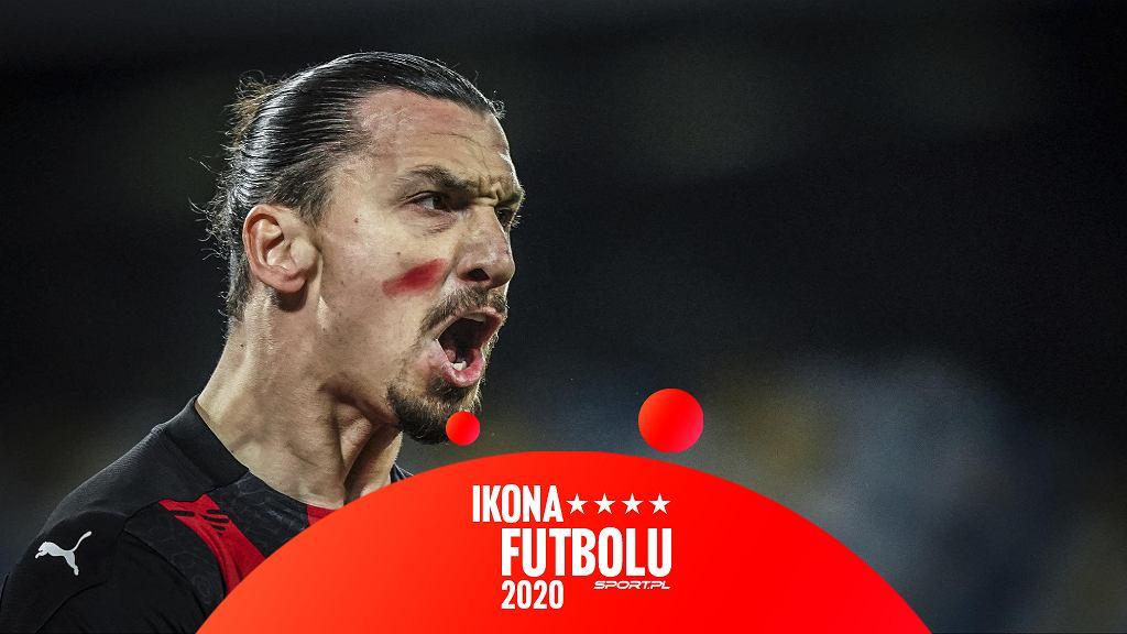 Zlatan Ibrahimović nominowany do Ikony Futbolu 2020