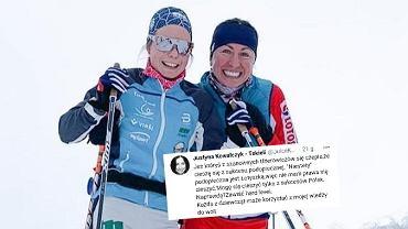 Patricija Eiduka, qui s'est entraînée avec l'équipe de Justyna Kowalczyk-Tekieli, à Davos a pris la meilleure position de l'histoire des compétitions de la Coupe du monde.  Le joueur a été critiqué dans les médias sociaux, ce à quoi Kowalczyk-Tekieli répond