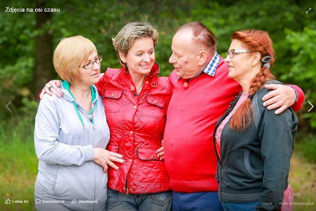 Teresa, Renata, Mikołaj i Janina