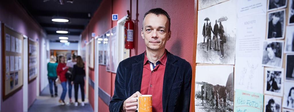 Leszek Janasik - dyrektor Społecznego Liceum Ogólnokształcącego nr 5 Społecznego Towarzystwa Oświatowego w Milanówku