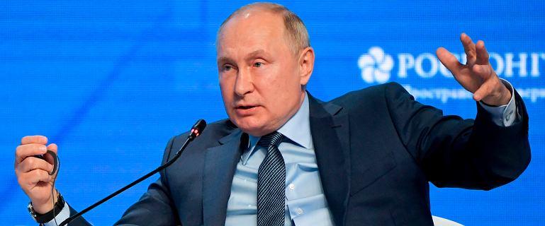 """Putin wysusza gazowy rynek.  """"Rośnie wrażenie, że Rosja dąży do drugiego celu"""""""