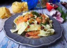 Pappardelle z łososiem - ugotuj