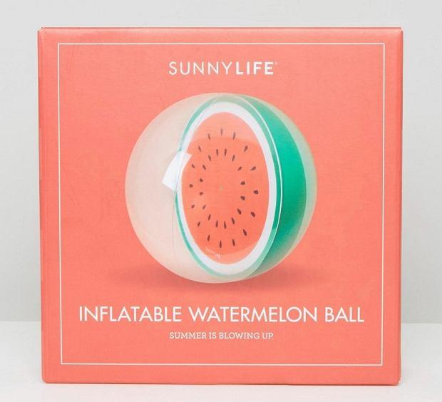 Piłka plażowa z arbuzem